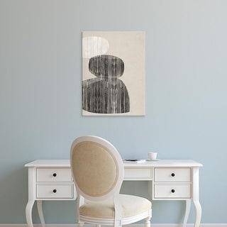 Easy Art Prints Jennifer Goldberger's 'Nested I' Premium Canvas Art