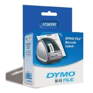Dymo 1738595 0.75 x 2.50 inches Direct Thermal Barcode Label for (Refurbished)