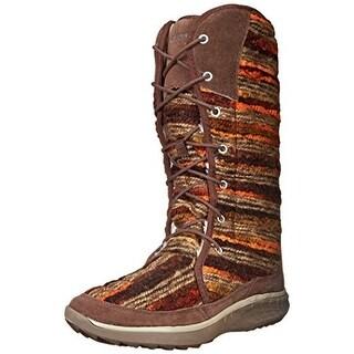 Merrell Womens Pechora Sky Knit Casual Winter Boots
