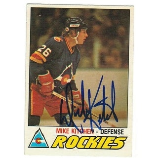Mike Kitchen Colorado Rockies Autographed 1977-78 O-Pee-Chee Card