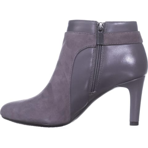 Bandolino Womens Lappo Leather Closed Toe Ankle Fashion Boots