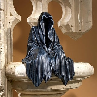 Design Toscano Halloween Reaping Solace:The Creeper Sitting Statue