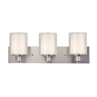 "Design House 579300 Penn 3 Light 24"" Wide Bathroom Vanity Light - satin nickel"