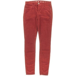 Earnest Sewn Womens Corduroy Mid Rise Corduroy Pants - 27