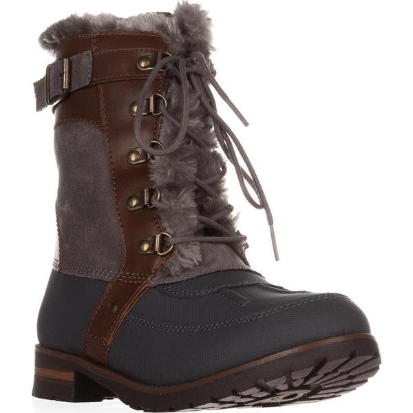 Rock & Candy Danlea Mid-Calf Winter Boots, Gray - 8.5 us
