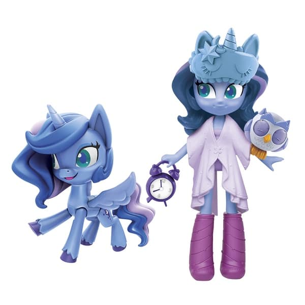 Shop My Little Pony Equestria Girls Princess Luna Potion Princess 3 Inch Mini Doll And Pony Toy With 20 Accessories Overstock 31669048