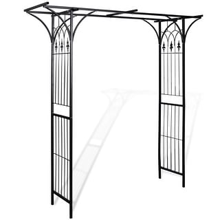 Link to vidaXL Garden Arch Patio Backyard Plant Rose Trellis Archway Arbor Pergola Similar Items in Outdoor Decor