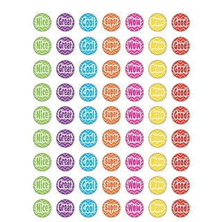 (12 Pk) Chevron Mini Stickers