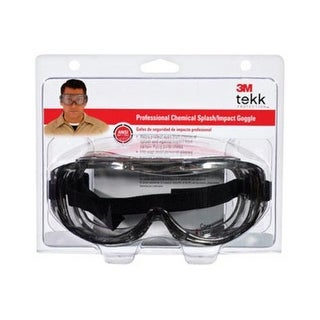 3M 91264-80025T Tekk Protection Professional Chemical Splash Goggle