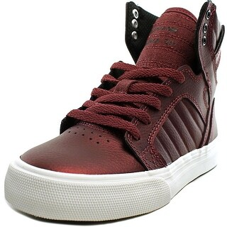 Supra Skytop Leather Fashion Sneakers (Option: 4.5)
