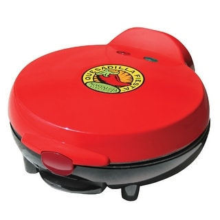 Nostalgia Electrics EQM-200 8 Inch Electric Quesadilla Maker - Red