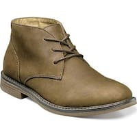 Nunn Bush Men's Lancaster Chukka Boot Brown Oiled Leather