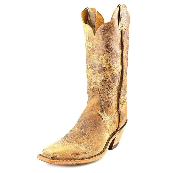 Justin Boots BRL122 Women Pointed Toe Leather Brown Western Boot