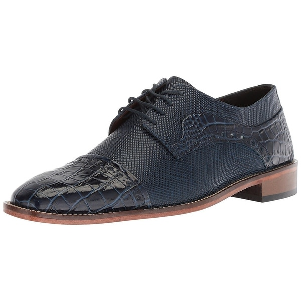 Stacy Adams Mens Rodrigo Leather Lace Up Dress Oxfords