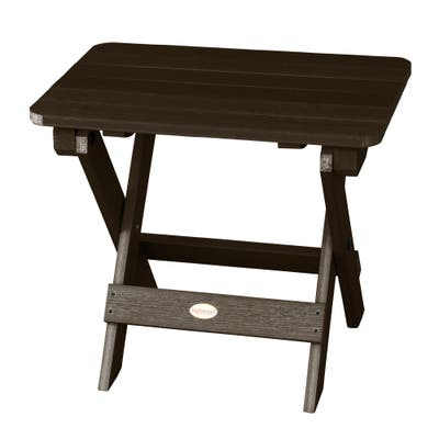 Mandalay Eco-friendly Synthetic Wood Folding Side Table by Havenside Home