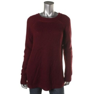 RDI Womens Ribbed Long Sleeves Pullover Sweater - XL