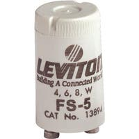 Leviton Fluor Starter 002-13894-000 Unit: EACH Contains 10 per case