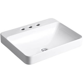 "Kohler K-2660-8 Vox 22"" Vessel Sink with Overflow"