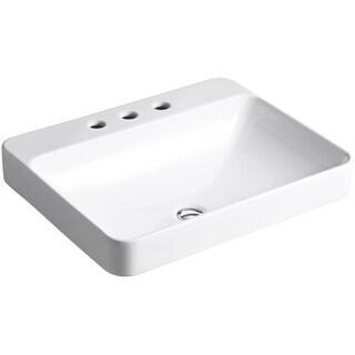 """Kohler K-2660-8 Vox 22"""" Vessel Sink with Overflow"""