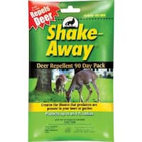 Shake-Away 9003105 Deer Repellent 90 Day Pack, 5 Oz