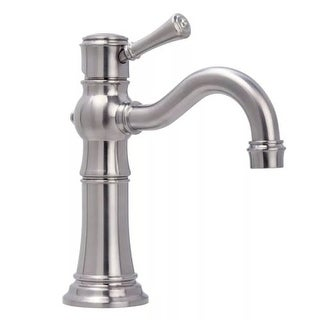 Miseno ML521 Santi-V Single Hole Bathroom Faucet - Includes Lifetime Warranty and Push Drain Assembly