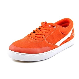 Etnies Rap CL Men Round Toe Suede Orange Skate Shoe