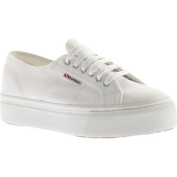 f7301639244 Shop Superga Women s 2790 ACTOW Flatform Sneaker White - On Sale ...