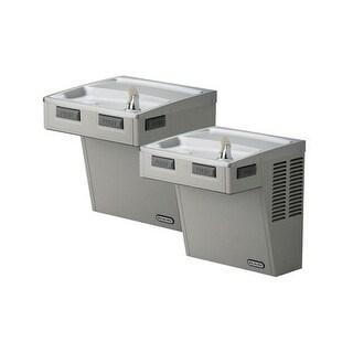 Elkay EMABFTL8C 8 GPH ADA Wall Mount Bi-Level Cooler with Mechanical Push Bar