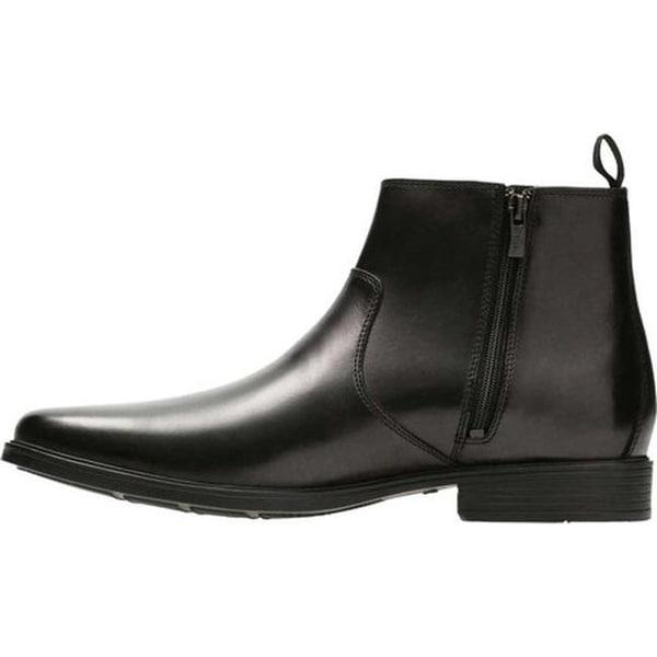 Shop Clarks Men's Tilden Zip Ankle Boot
