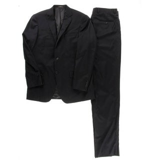 Hart Schaffner Marx Mens Wool 2PC Two-Button Suit - 42L