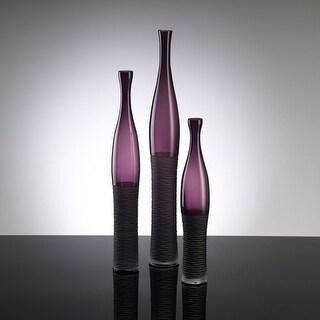 """Cyan Design 881 23.5"""" Large Amethyst Bottle Vase"""