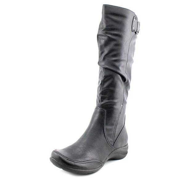 Hush Puppies Alternative-18BT Womens Black Boots