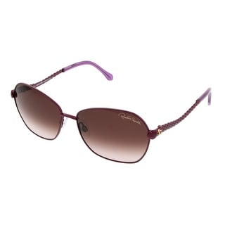 Roberto Cavalli RC 791/S 81T Purple Oval Sunglasses - 59-15-135