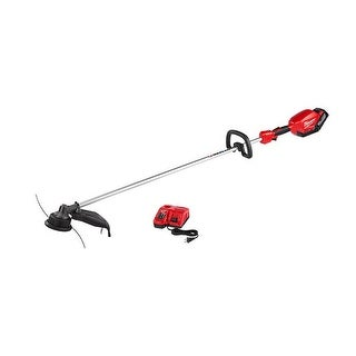 Milwaukee M18 FUEL Lithium-Ion Brushless Cordless String Trimmer Kit - Red