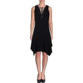 MICHAEL Michael Kors Womens Sleeveless Mini Clubwear Dress