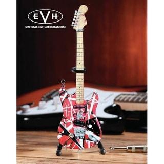 Axe Heaven EVH-001 Eddie Van Halen Frankenstein Mini Guitar