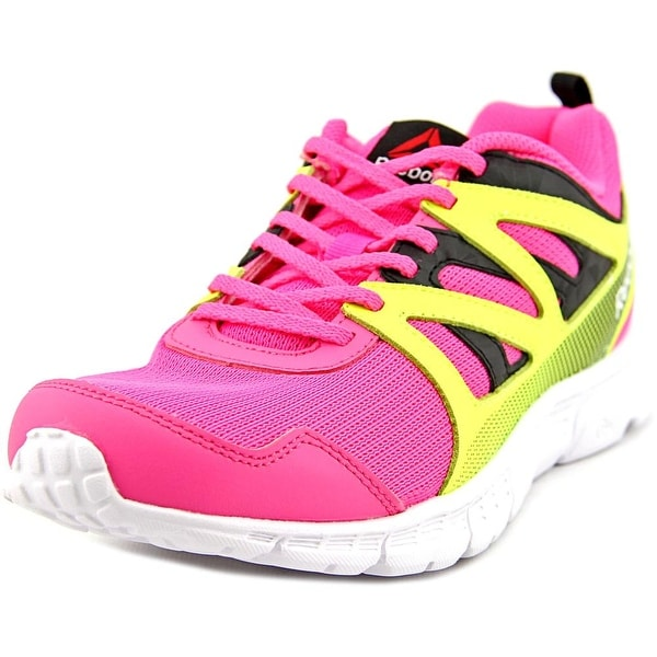 Reebok Run Supreme 2.0 Youth Round Toe Synthetic Pink Running Shoe