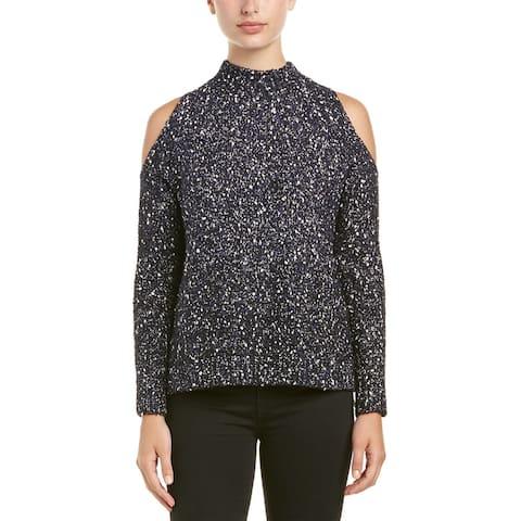 Rebecca Taylor Cold Shoulder Sweater