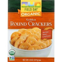 Field Day - Golden Round Crackers ( 12 - 8 OZ)