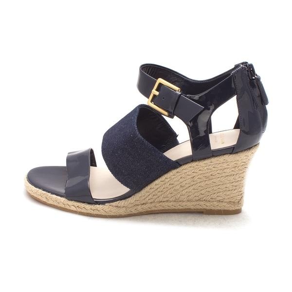 Cole Haan Womens Wandiesam Open Toe Casual Espadrille Sandals - 6