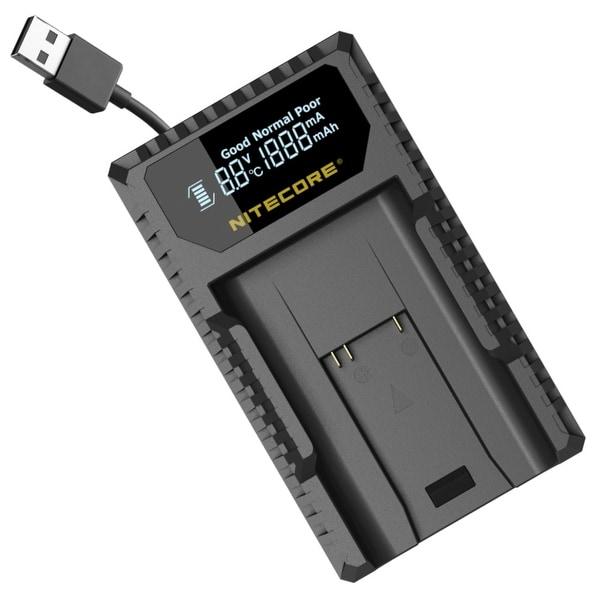 NITECORE ULM9 Leica Camera Battery Charger for BLI-312 Batteries