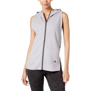 The North Face Womens Casual Vest Stand Collar Hooded - m