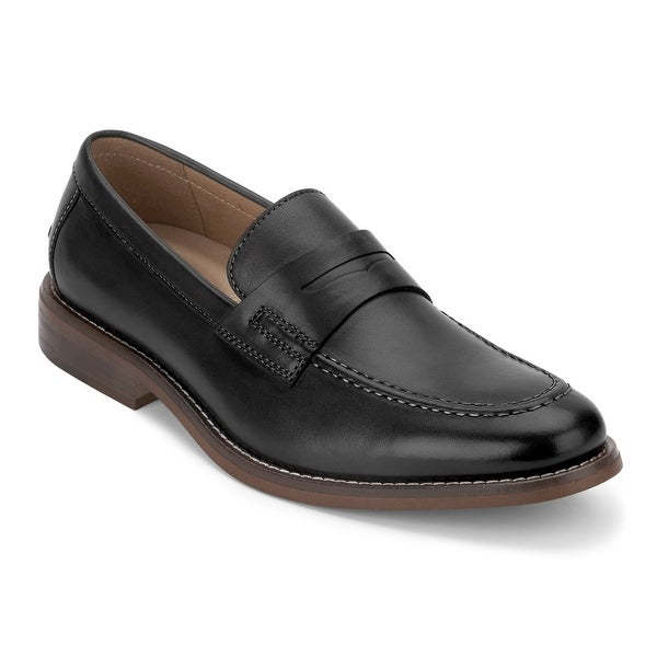 4266acbfc89 Shop G.H. Bass   Co. Mens Conner Leather Penny Loafer Shoe - On Sale ...
