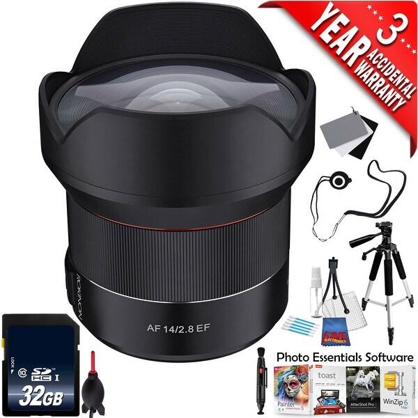 Shop Rokinon Af 14mm F 2 8 Lens For Canon Ef Io14af C