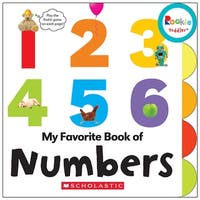 Board Book My Fav Book Of Numbers Rookie Toddler