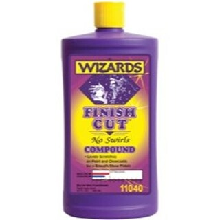 11040 32 oz Finish Cut No Swirls Compound for Cleaning Vehicles