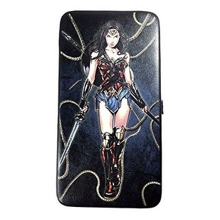 Buckle-Down Hinge Wallet - Wonder Woman