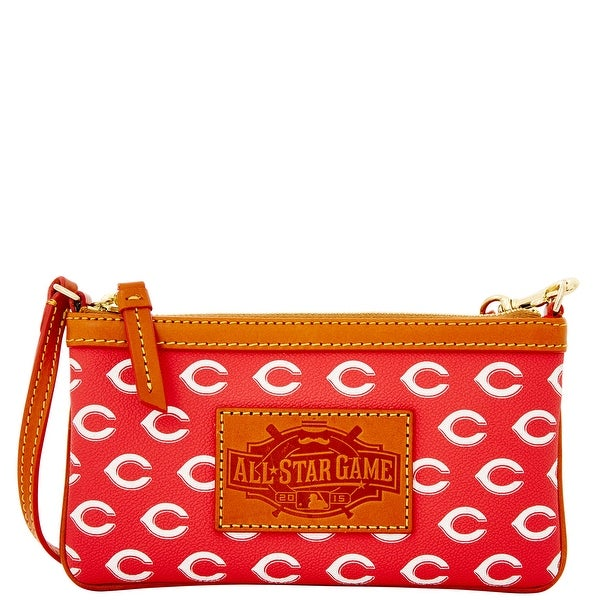 Dooney & Bourke MLB All-Star Game Wristlet (Introduced by Dooney & Bourke at $88 in May 2014) - Reds