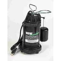 Wayne CDU-800 Submersible Sump Pump, 1/2 Hp, Cast Iron