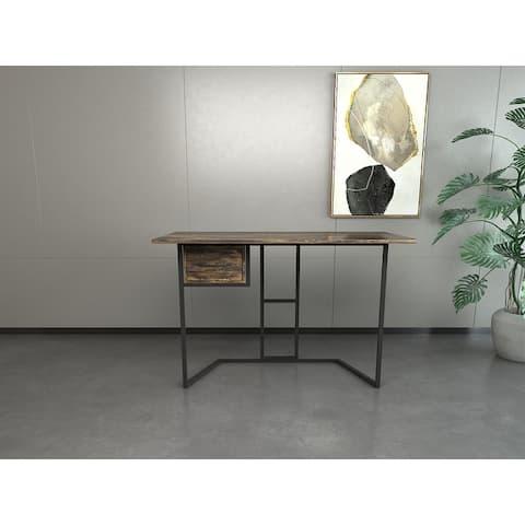 "Celipu Rectangular 47""W x 24""D Computer desk with 1 drawer"